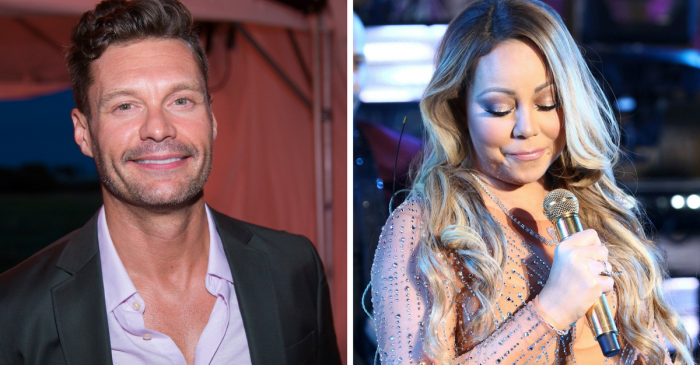 Ryan Seacrest suggests Mariah Carey was really to blame for her New Year's Eve disaster