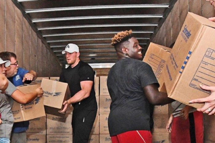 As Harvey donations pour in, kudos continue for J.J., but questions for the Red Cross take shape
