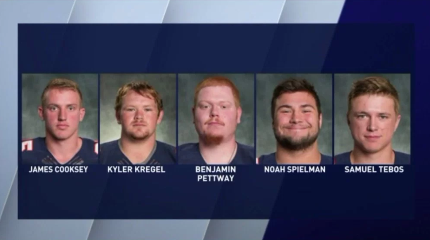 Charges are in for Chicago-area college football players in hazing case
