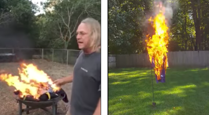 NFL Fans Are Burning Jerseys as Protests Continue