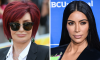 Sharon Osbourne & Kim Kardashian West