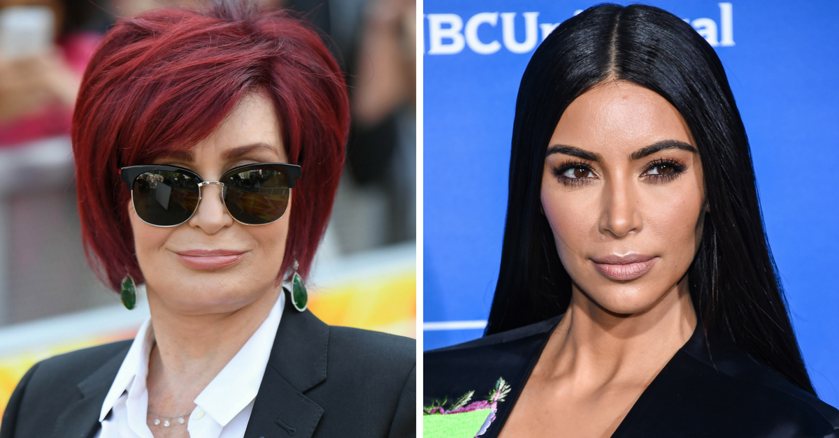 "Sharon Osbourne called Kim Kardashian West a ""ho,"" and she isn't apologizing for it"