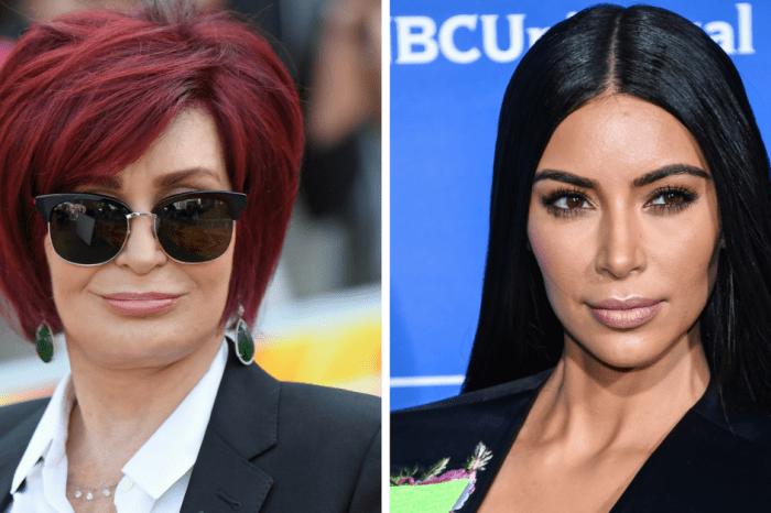 """Kim Kardashian West fires back after Sharon Osbourne called her a """"ho"""" for posting nude photos"""