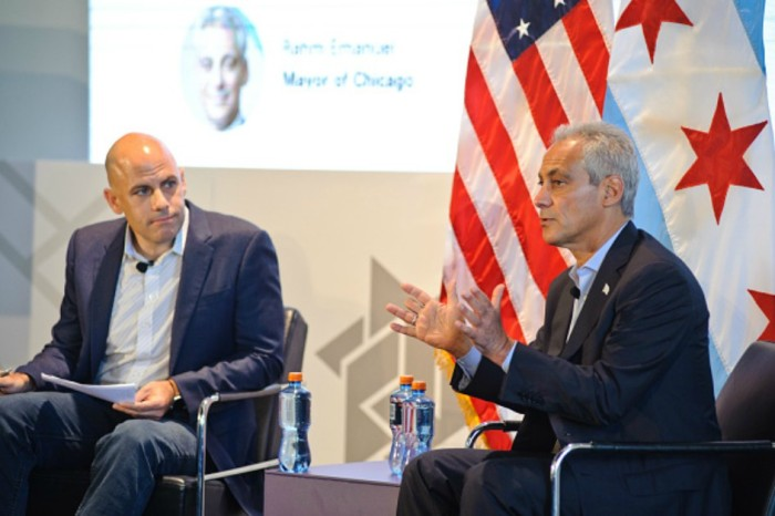 Chicago Mayer Rahm Emanuel wants in on Silicon Valley