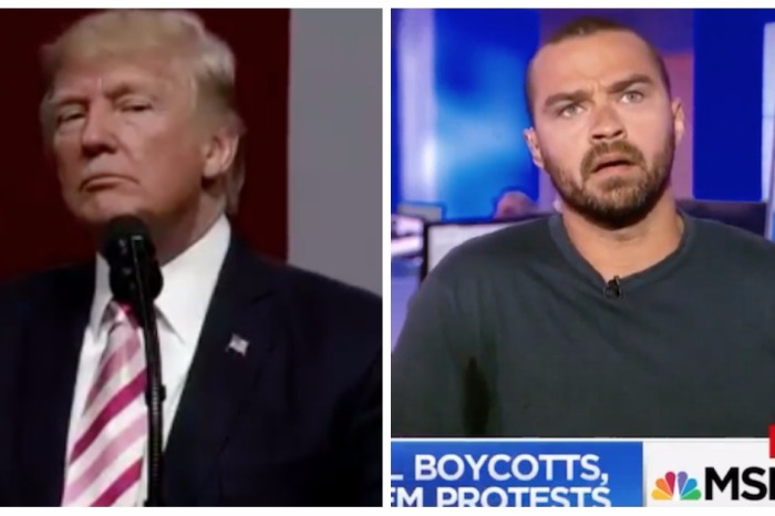 TV star Jesse Williams whips up the hottest take on the national anthem we've seen yet
