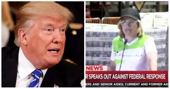 President Trump just attacked the mayor of San Juan, Puerto Rico
