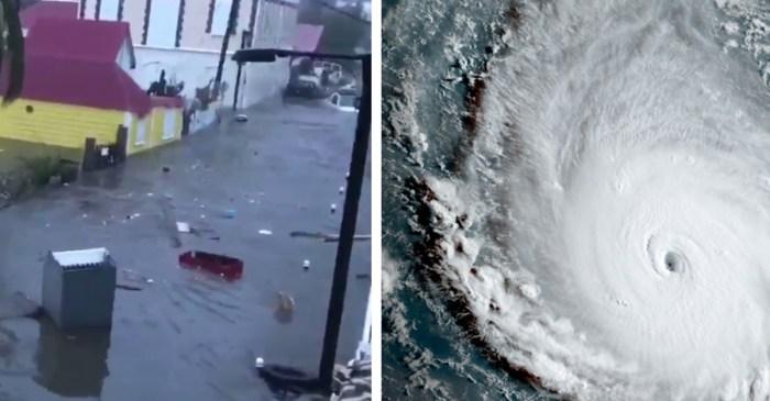 Terrifying videos show the full impact of Hurricane Irma