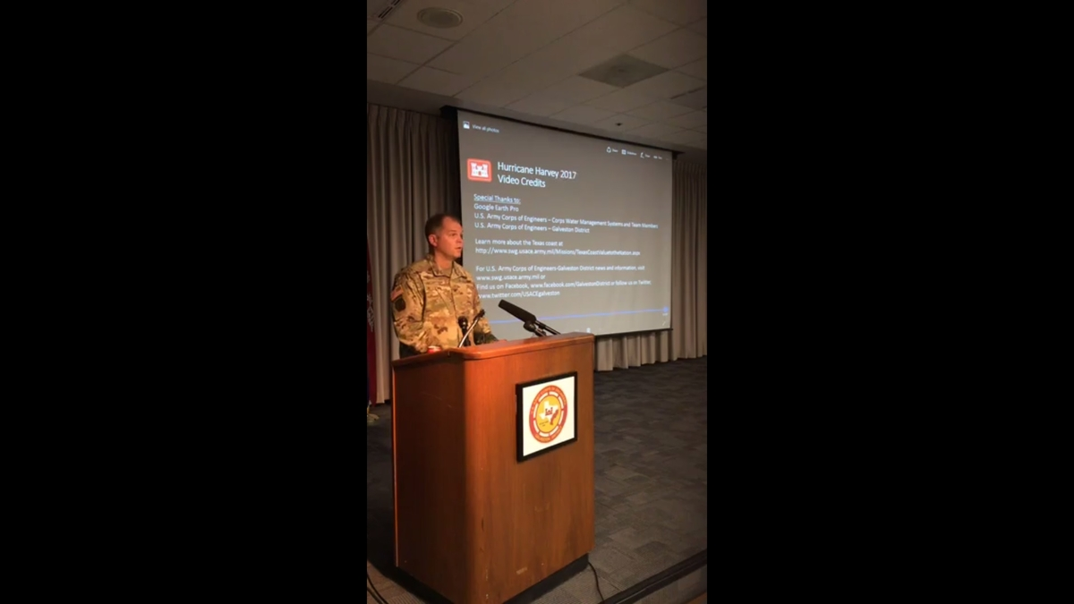 Army Corps of Engineers provides update on Addicks and Barker reservoir flooding
