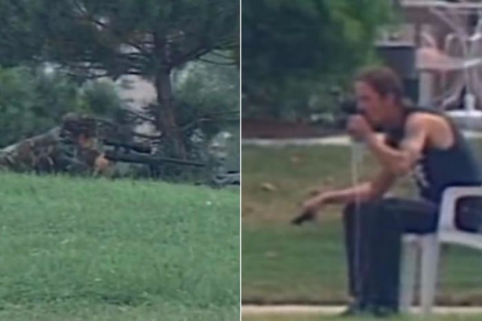 It Only Took One Shot for this Sniper to Knock a Gun Out of a Man's Hand