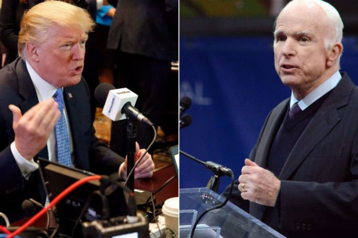 Trump vs. McCain displays starkly opposed political styles and ideologies in conservatism