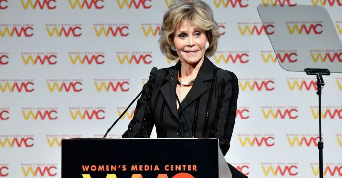 Jane Fonda makes controversial statement about women who were abused by Harvey Weinstein