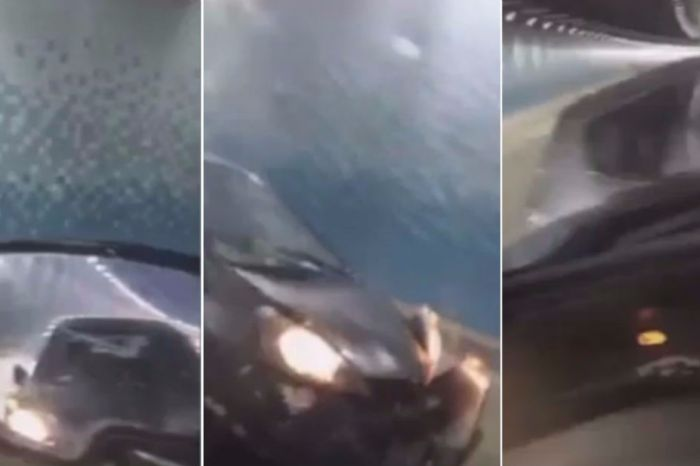 This video of a small car ramming a truck is a good reminder to never give in to road rage