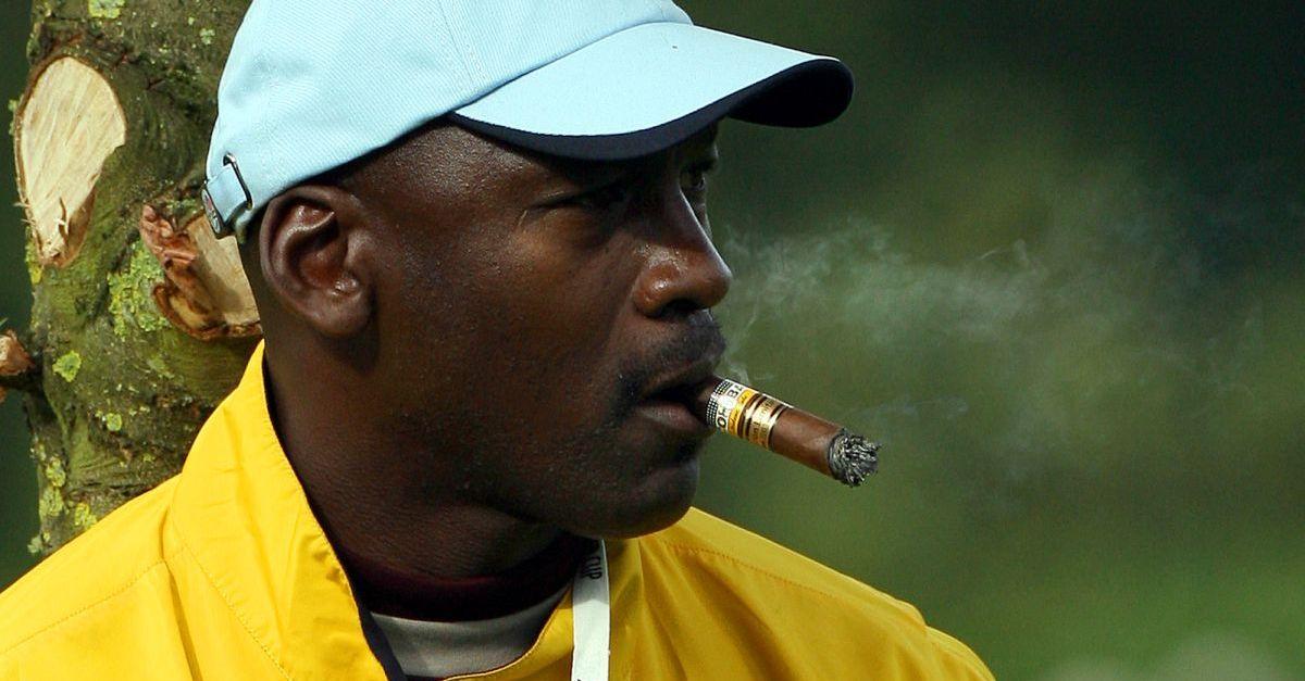 Michael Jordan reveals just how many cigars he enjoys a day