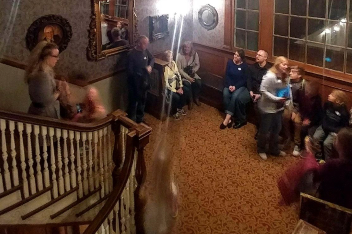 Ghost Picture Stanley Hotel