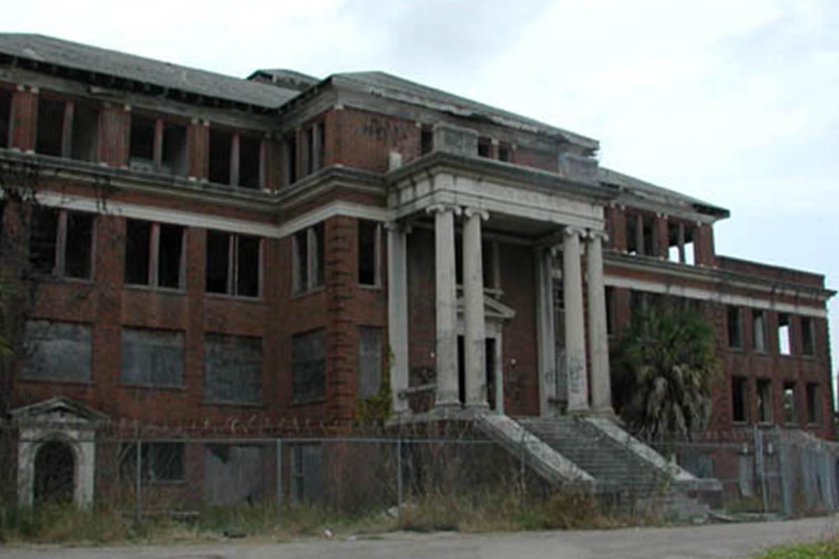 Haunted Places Houston TX