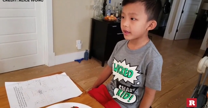 5-year-old whiz kid solves tricky riddle unbelievably fast