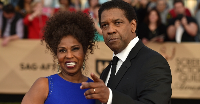 Denzel Washington surprised an 86-year-old grandmother on the South Side and the heartwarming moment is on video
