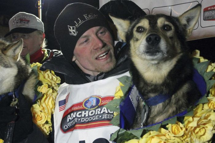 Four-time Iditarod champ out after his dogs tested positive for drugs