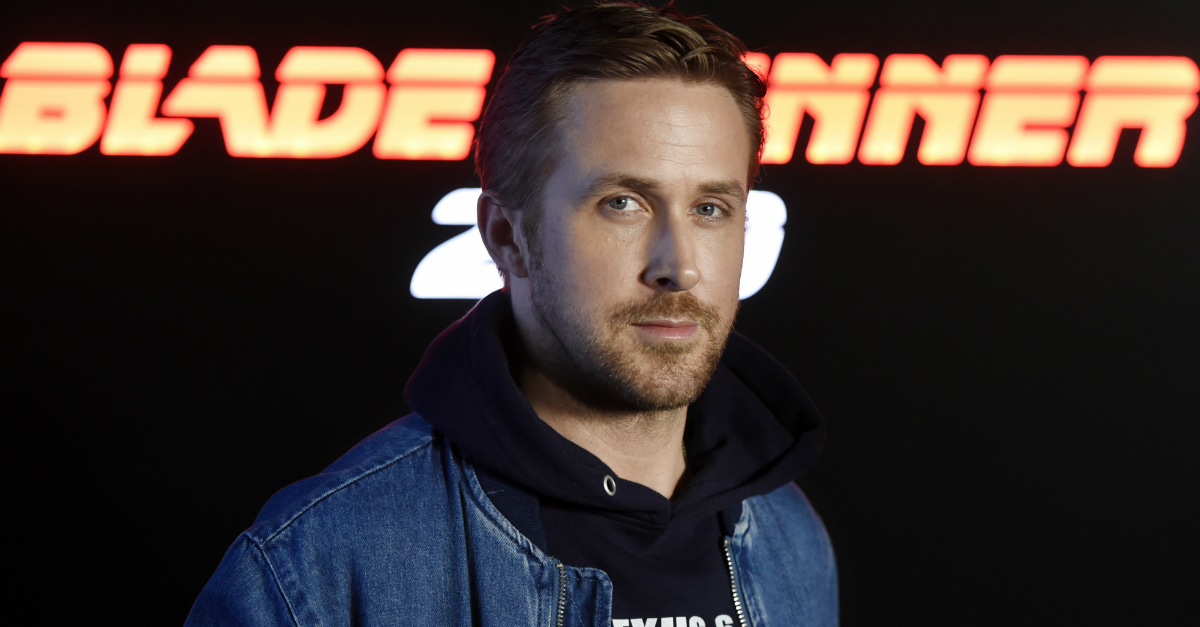 Ryan Gosling's jacket game is stellar, and people are taking note