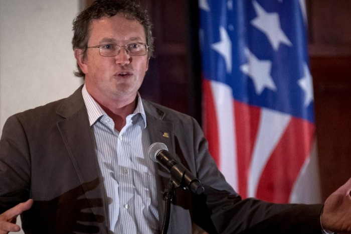 Rep. Thomas Massie to Paul Ryan: Why don't we debate the $50 billion we're spending in Afghanistan next year?
