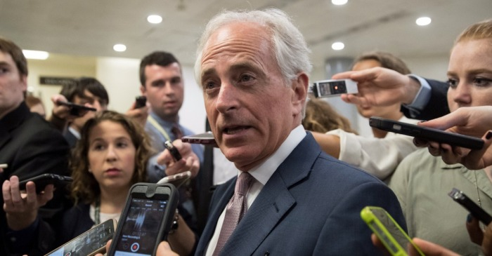 Does Trump realize that Corker holds all the leverage?