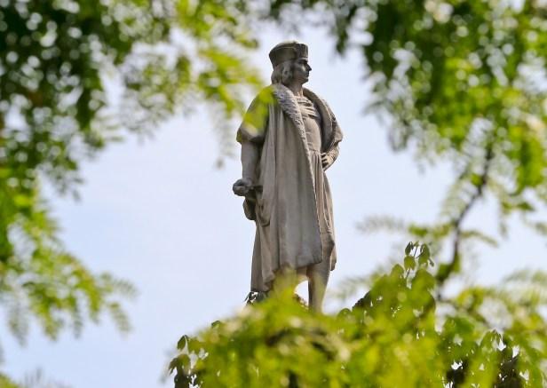 Chicago man arrested after vandalizing Christopher Columbus statue in Arrigo Park