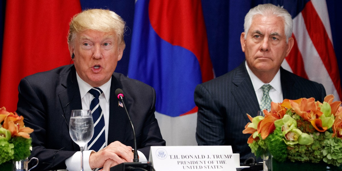 How bad is it between Donald Trump and Rex Tillerson?