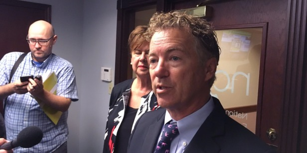Rand Paul holds up spending bill vote as government shutdown draws near