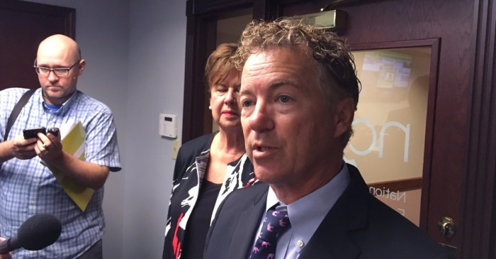 "Rand Paul goes ""all in"" on Trump tax cuts"