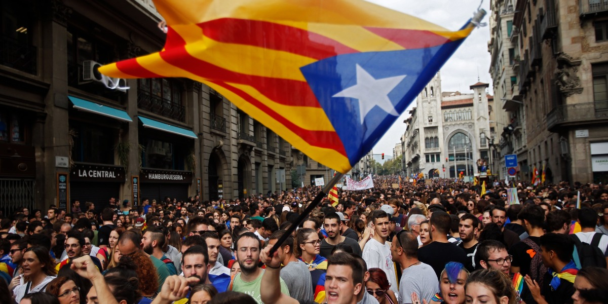 Catalonia's secession attempt offers lessons for Texas and California