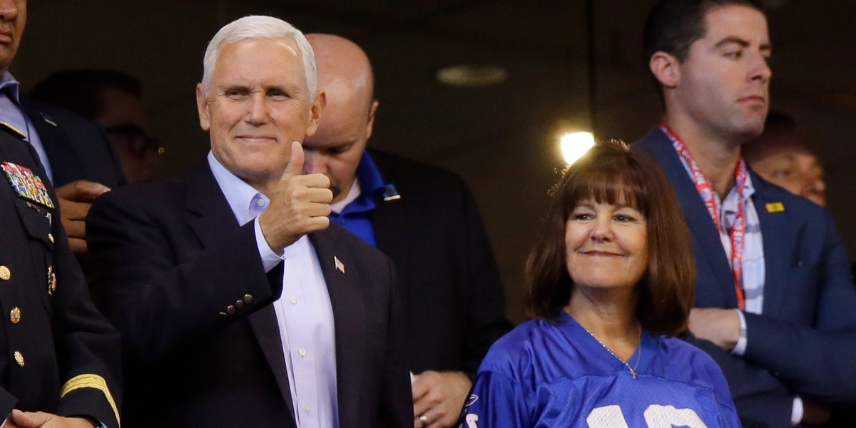 Mike Pence's NFL stunt was pointless political theater