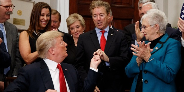 Rand Paul applauds Trump's expansion of access to health care through Association Health Plans