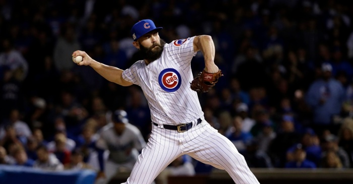 Jake Arrieta shaved his whole beard off and looks COMPLETELY different!