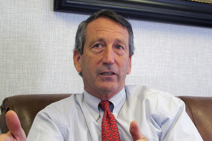 Mark Sanford co-sponsors bill that would help marijuana businesses