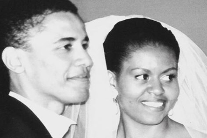 Barack Obama surprised Michelle Obama on their 25th anniversary with a sweet message