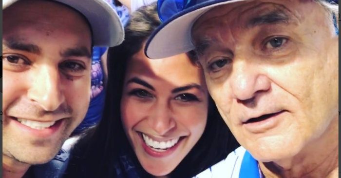 These two Cubs fans just got the best pregnancy announcement ever