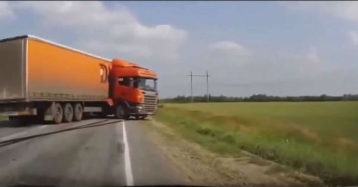 Here are ten badass minutes of truck drivers bending the laws of nature