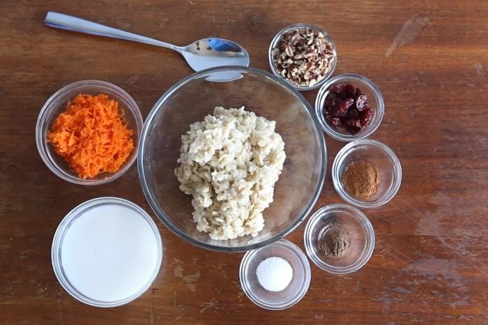 He makes oatmeal like you've never seen before