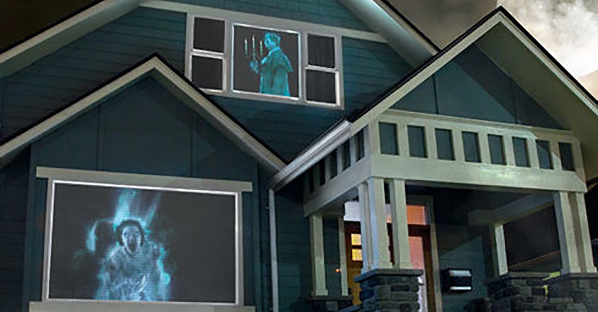 How to easily create your own real haunted house this year