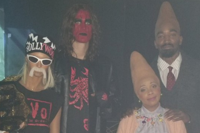 Costumes at LeBron James's annual Halloween party have our eyes bugging out