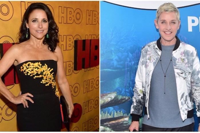Ellen DeGeneres sends her love to Julia Louis-Dreyfus following her cancer diagnosis