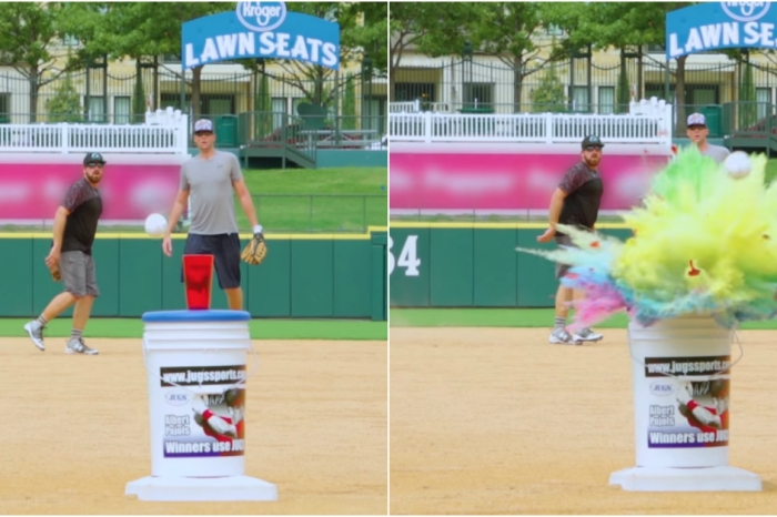 YouTube stars Dude Perfect will blow your mind with these awesome baseball trick shots