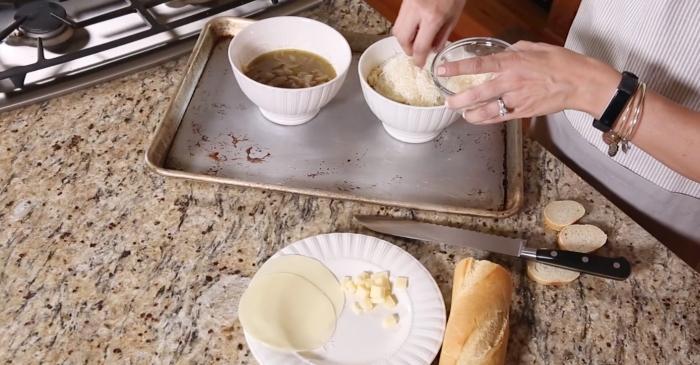 Warm up this winter by making your own hearty and delicious French onion soup at home