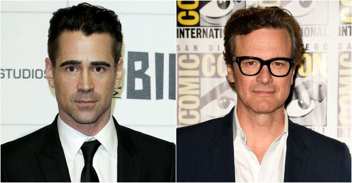 Colin Farrell admits during interview that fans keep mistaking him for Colin Firth