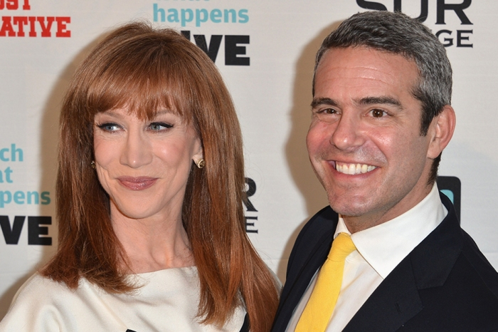 Kathy Griffin is livid with former boss Andy Cohen after his recent diss
