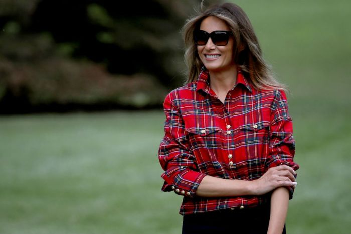 Relive the best festive fall looks from Melania Trump: the first lady of fashion