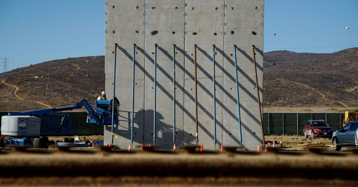 Washington stealing land to build an overpriced border wall won't make America great