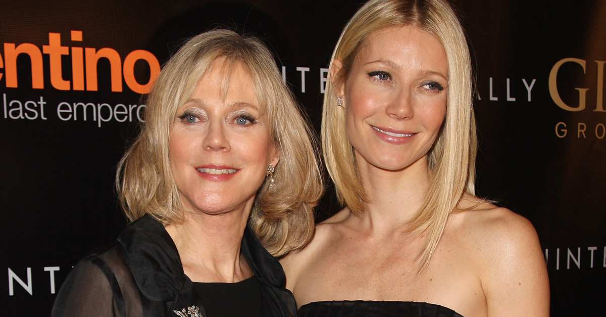 Blythe Danner went full mama bear when someone took a shot at her daughter Gwyneth Paltrow