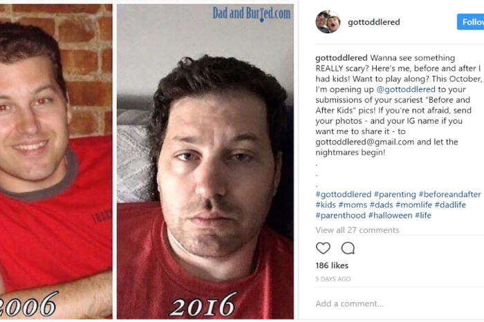Instagram Users Share Photos of Themselves Before and After Having Kids and There is a Big Difference