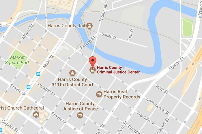 Harris County Criminal Justice Center could move to a less flood-prone location